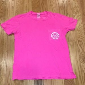 Victoria's Secret Pink Tee Shirt Small